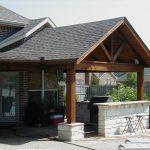 backyard outdoor covered patio designs stand alone covered patio how