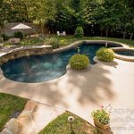 backyard pool landscaping ideas great outdoors pinterest