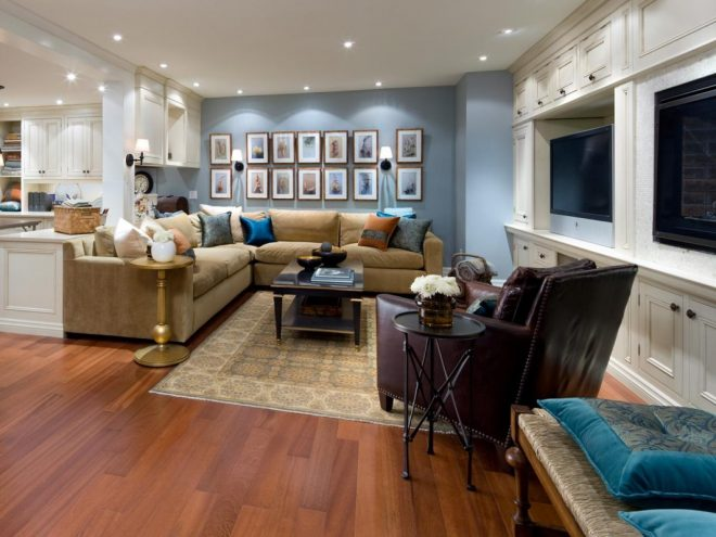 basement decorating ideas for supporting social activities
