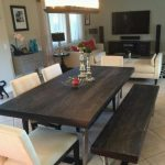 bateau grey dining table living spaces for sale in tempe