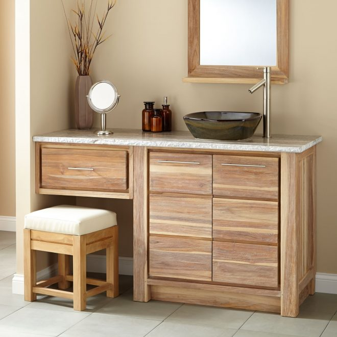 bathroom 60 inch bathroom vanity single sink with makeup