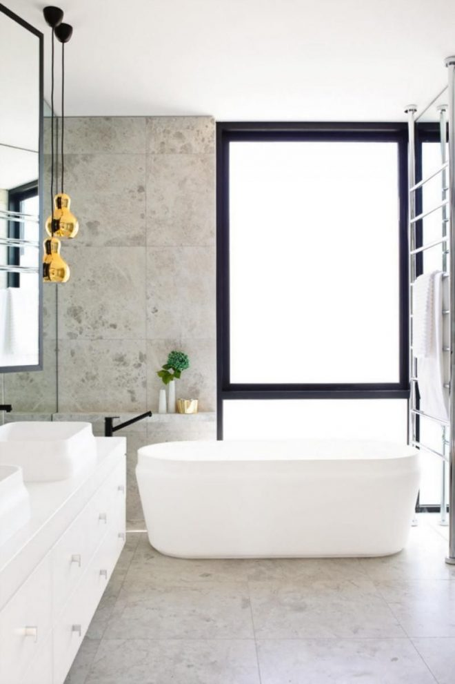 bathroom bath pendant lights towel rail bath designy pinterest