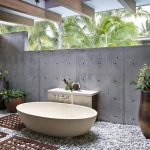bathroom delicate outside of outdoor baths stunning using in