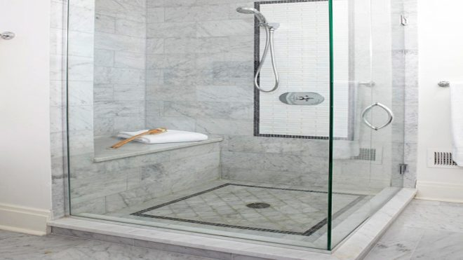 bathroom long marble shower bench pictures decorations