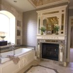 bathrooms with fireplaces the best design options that the