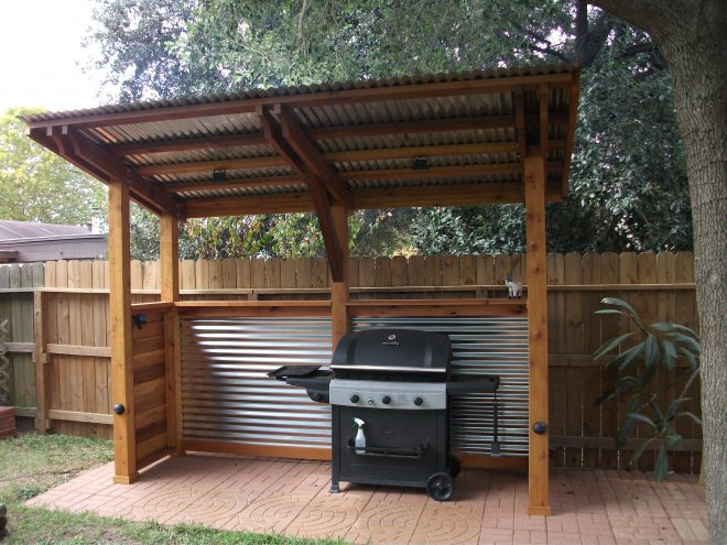 bbq cover in 2019 backyard kitchen outdoor kitchen grill