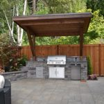 bbq lean to in 2019 outdoor barbeque outdoor kitchen
