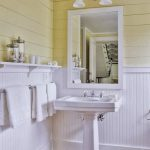 beadboard bathroom wainscoting bath house small bathroom