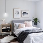 beautiful bedding with a light pastel color palette pink