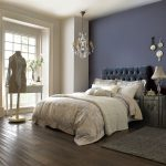 beautiful bedroom with neutral calming tones and a deep
