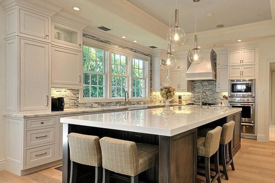 beautiful kitchen with large island kitchen design small