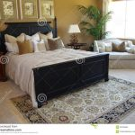 beautiful master bedroom suite stock photo image of drapes