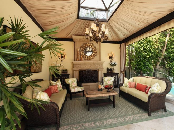 beautiful outdoor living room design photos tent kitchen furniture