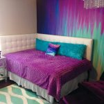 beautiful purple and turquoise bedroom ideas images