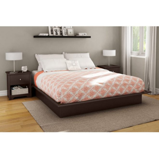 beautiful south shore platform bed full mattress twi queen
