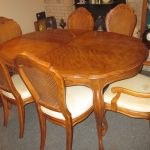 beautiful vintage drexel heritage french provincial dining