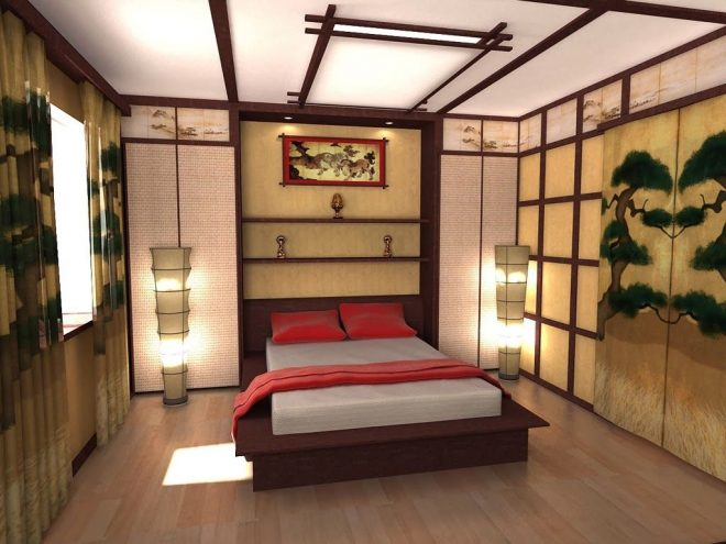 bedroom ceiling design ideas in japanese style decorating ideas