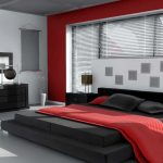 bedroom decorating ideas red and gray in 2018 decor pinterest
