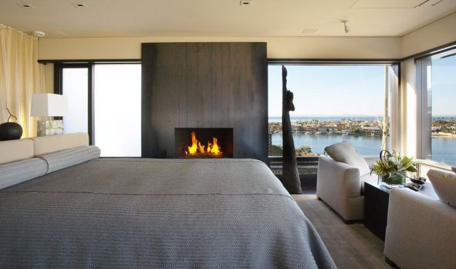 bedroom fireplace views loft with spectacular views in