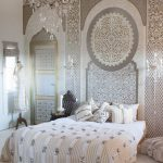 bedroom gorgeous morrocan with dark red wall moroccan decor style