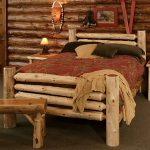 bedroom rustic pine bed lodge bedroom furniture log cabin style