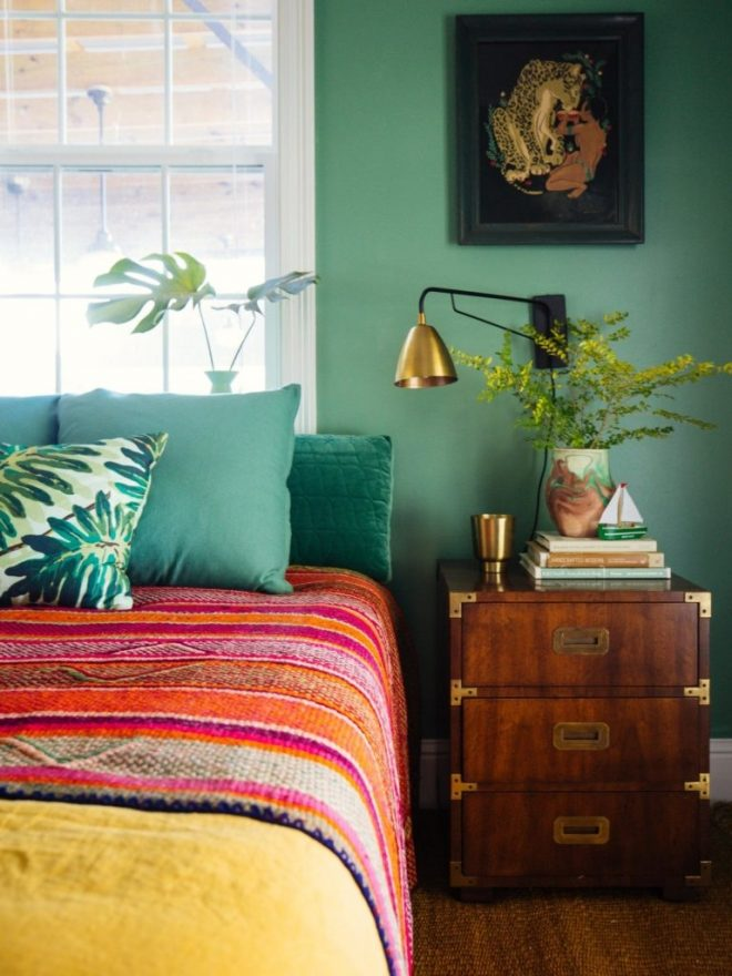 bedroom tropical bright colored michaelelliottactor