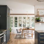 before after a budget conscious kitchen and dining room makeover