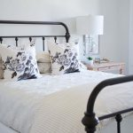 before after a soft and neutral guest bedroom rambling