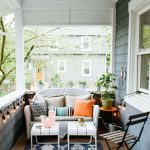 before and after how to style a small outdoor space