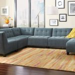 belaire 6 piece sectional sofa