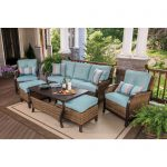 berkley jensen nantucket 6 piece wicker patio set bjs