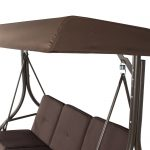 best choice products 3 seat converting outdoor furniture