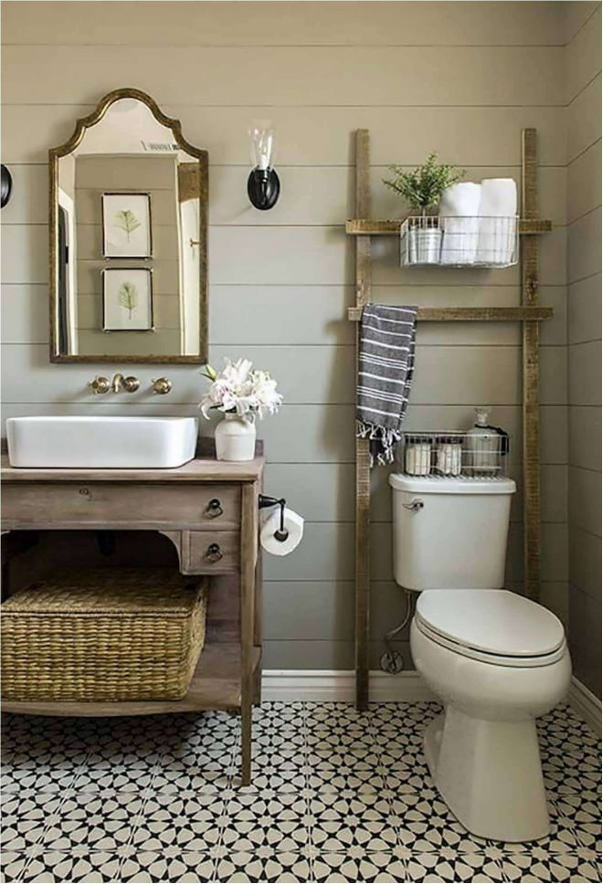 best eclectic bathroom design of 2018 modern farmhouse