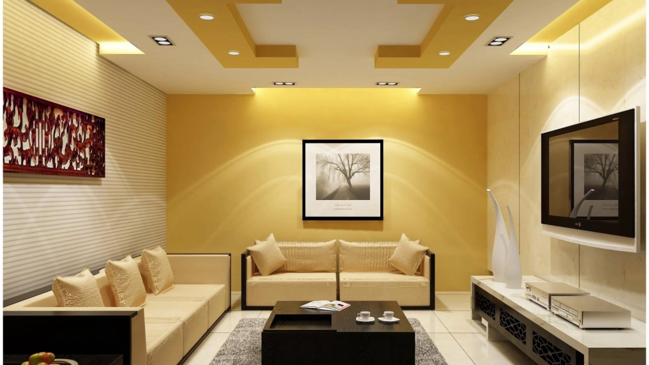 best modern living room ceiling design 2017 youtube
