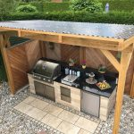 best outdoor kitchen ideas and backyard design for small