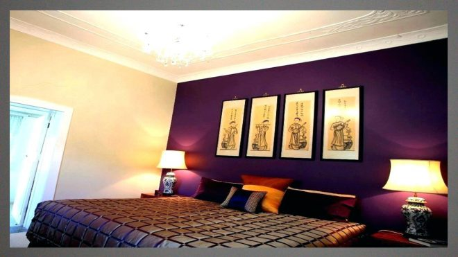 best paint color for master bedroom with cream purple walls