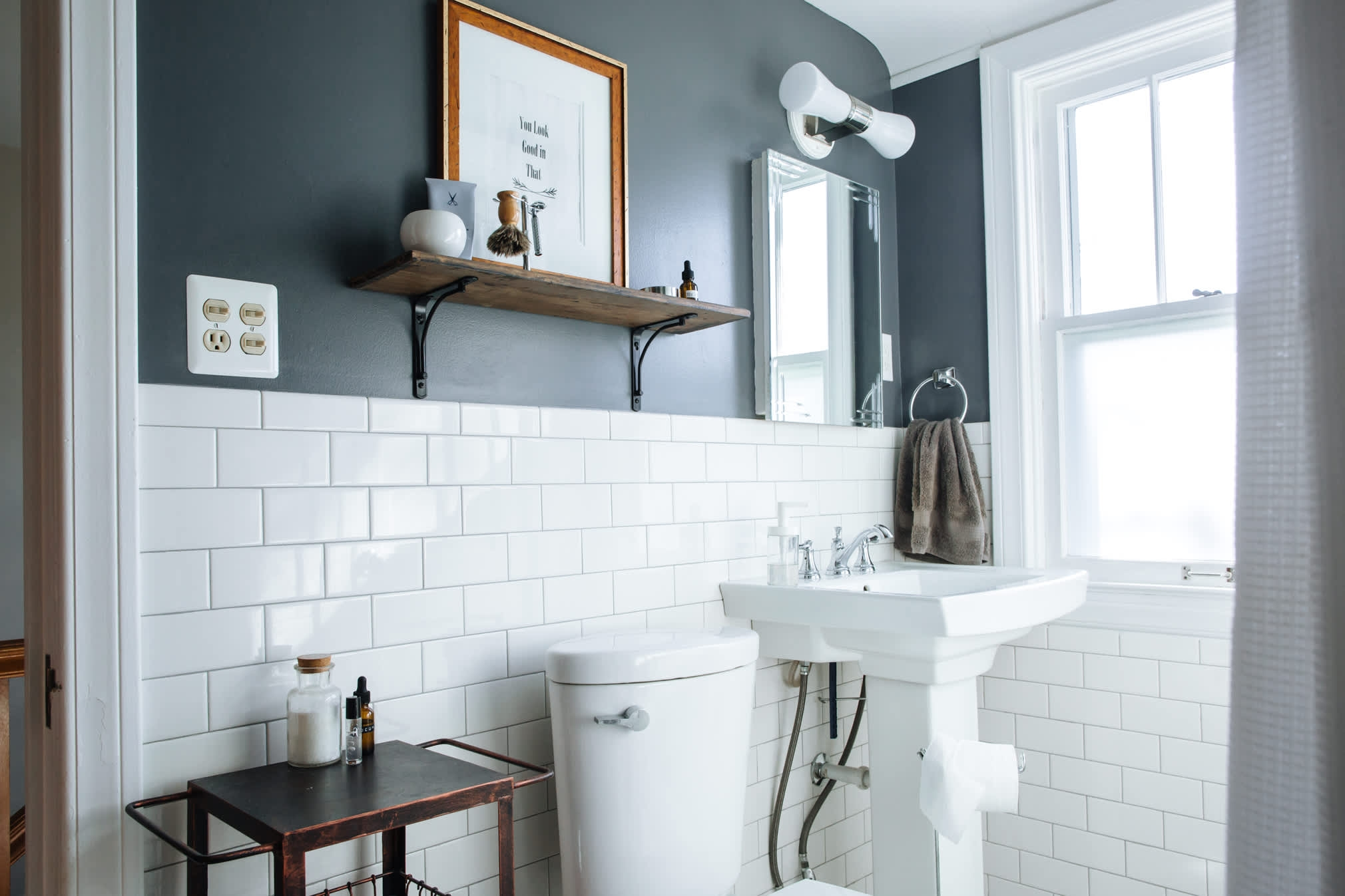 best paint colors for small bathrooms apartment therapy