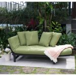 better homes gardens delahey outdoor daybed with cushions green