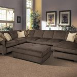 big and comfy grand island large 7 seat sectional sofa with