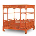 big offer d2d7 chinese classical canopy bed queen storage