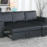 black leather sectional sofa and ottoman steal a sofa furniture