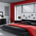 black white and red bedroom design ideas bedroom red