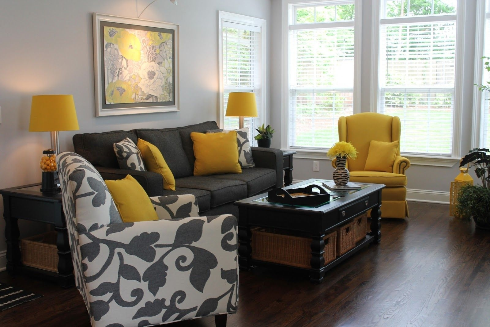 black white and yellow living room ideas drawingliving room in