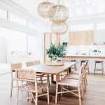 boho dining room and kitchen scandinavian dining room