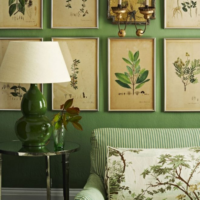 botanical inspired room schemes that invite florals and