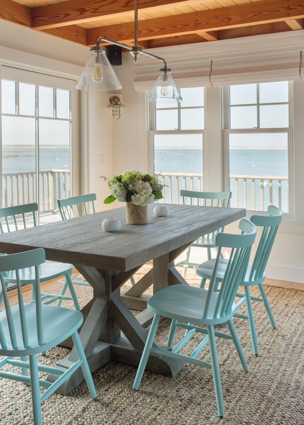 breezy coastal beach cottage with open floor plan