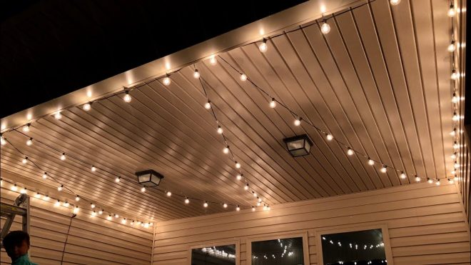 brightown outdoor cafe patio string lights review