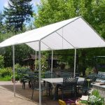 brilliant diy tent frame from pvc outdoor shade backyard