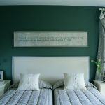 brown silver and green bedroom decorating home guides