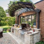 buil a small outdoor kitchen home inspirations outdoor